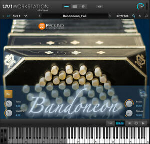 Details about PSound Alfred Arnold Bandone Mac PC Software Instrument