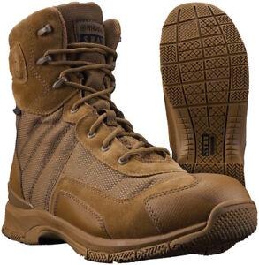 """Original S.W.A.T. 162033 HAWK 9"""" Waterproof EN Boots Coyote"""