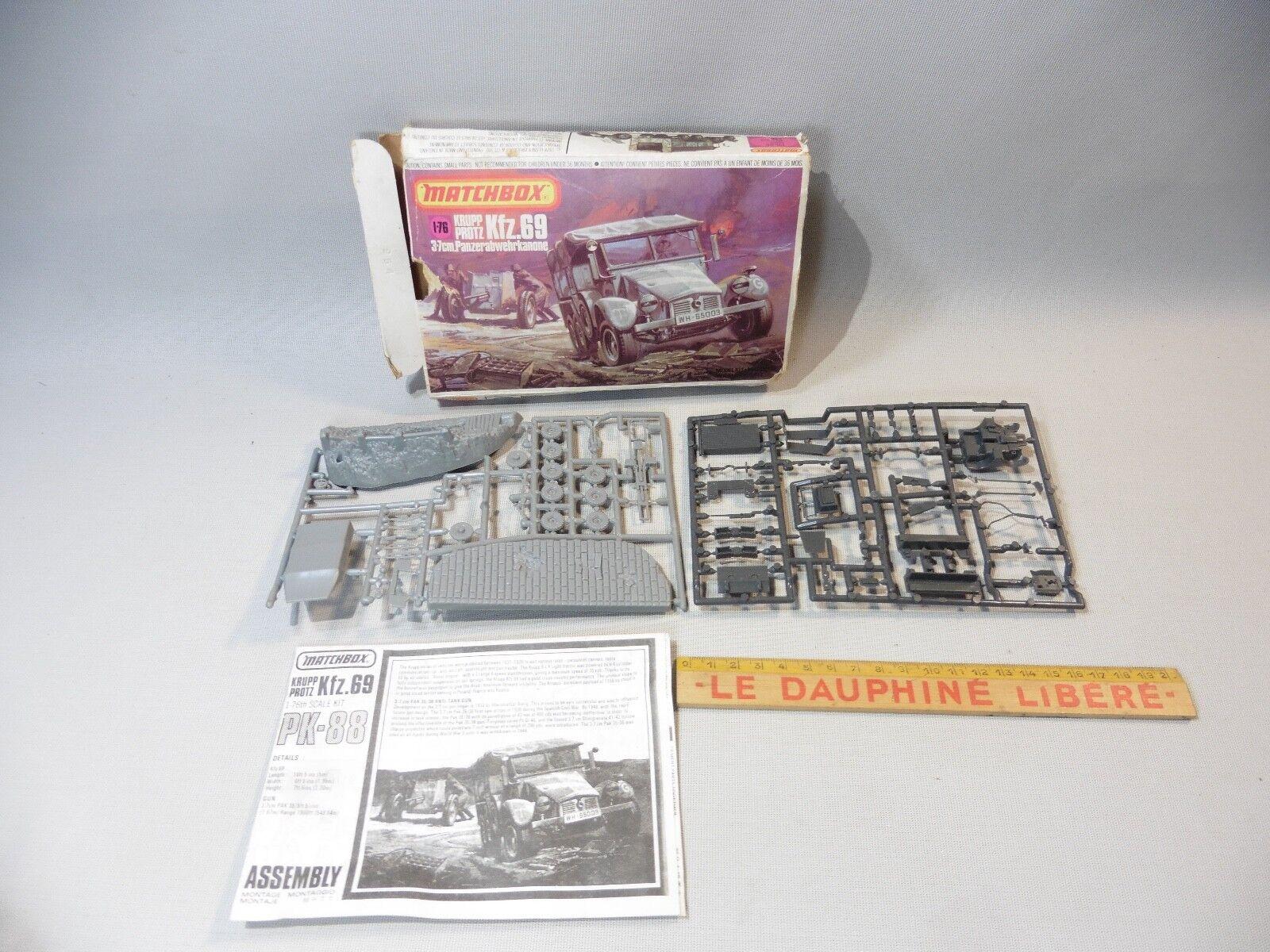 Matchbox - protz kfz.69 modellino