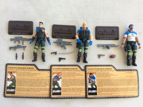 GI JOE CONVENTION SLAUGHTERS MARAUDERS RENEGADES MERCER RED DOG TAURUS 2018 3