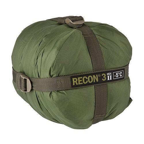 Halo Recon 3 Gen II Sac de Couchage Militaire -5°C Tactique Vert