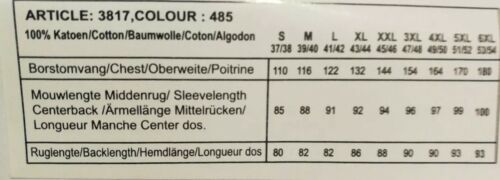 XXL 45//46 Kentkragen  Blau Blätter Regular Fit Langarm Freizeit Hemd GCM Gr