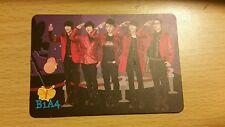 B1A4 group yes card photocard kpop bark jinyoung cnu gongchan sandeul