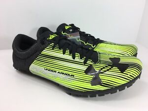 7771924b26c741 Under Armour Mens Kick Sprint With Spikes Wrench New 1273939-300 ...