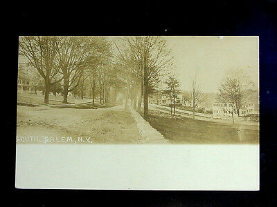 c.1910 RPPC Homes Street Scene South Salem NY Westchester County