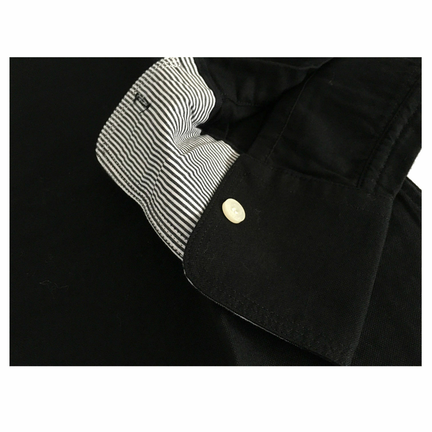 VINTAGE 55 linea GANGS détails OF NEW YORK chemise homme avec détails GANGS à rayures a0841a