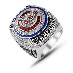 Men-039-s-Sport-Ring-CUBS-Ring-Championship-Ring-Sport-Fans-Gift