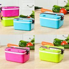 Tragbar Lunchbox Bento Brotdose Box Vesperdose Kinder Isoliertasche Brotzeitdose