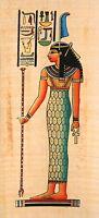 Egyptian Papyrus -hand Made - 5 X 12.5 - Ancient Art - Maat