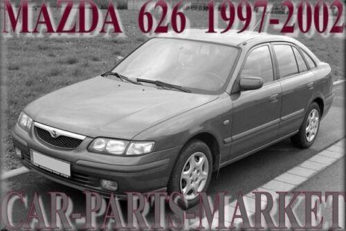 SINISTRO Lato Passeggero Piatto Ala PORTA SPECCHIO VETRO PER MAZDA 626 1997-2002