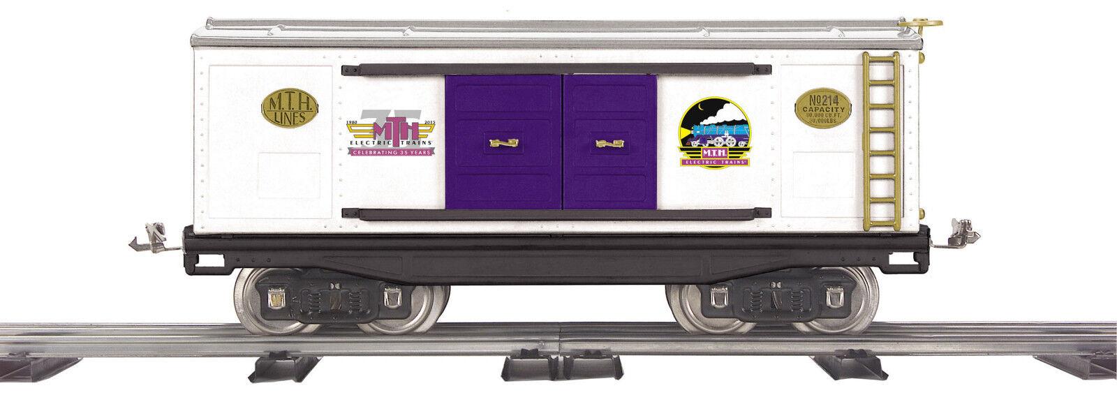 MTH 35th aniversario 214 Hojalata estándar calibre coche de caja de 10-2245