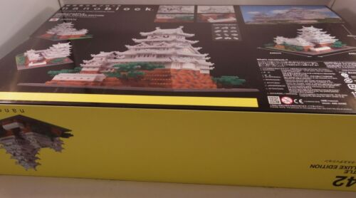 Kawada Nanoblock HIMEJI CASTLE SPECIAL DELUXE EDITION JAPAN toy NB-042