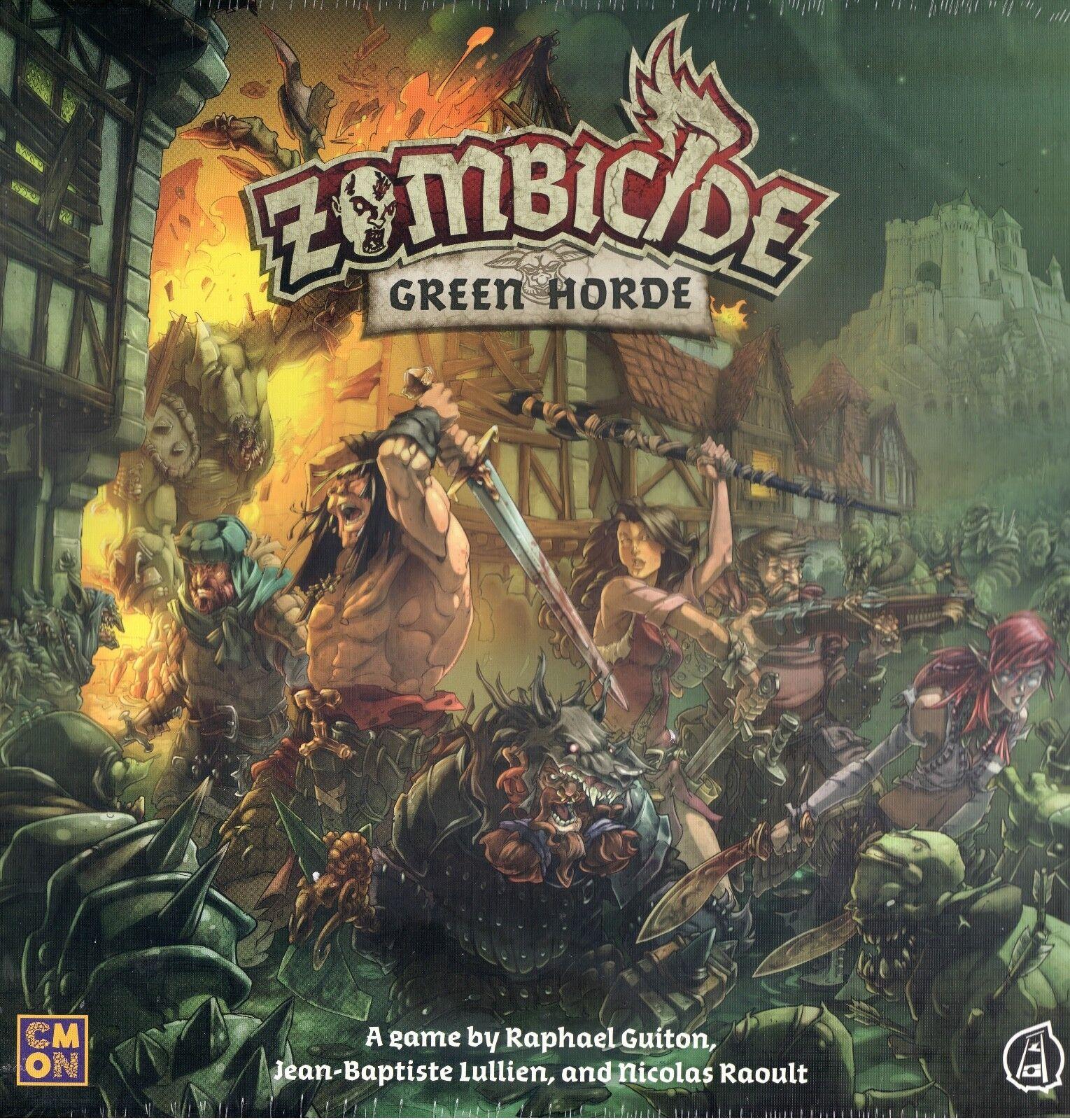 CMON Zombicide grön Horde Core spel New Psykerkrap