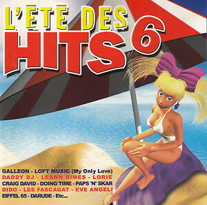 Compilation-CD-L-039-ete-Des-Hits-6-France-M-EX