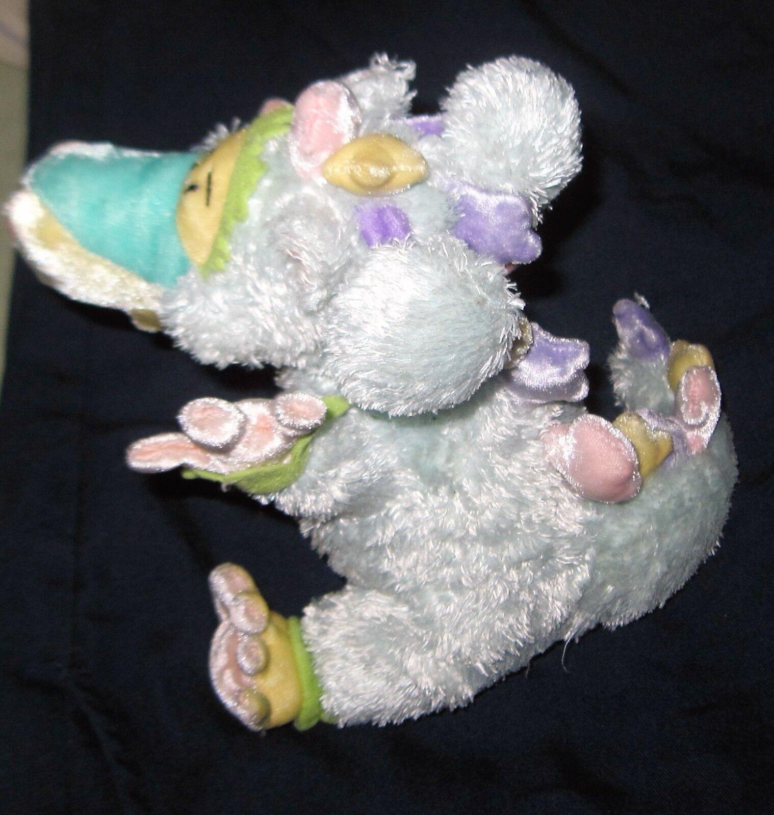 THE THE THE ORIGINAL Plush CLAYWORKS Stuffed PASTEL DRAGON PUFF Heather goldminc 011727
