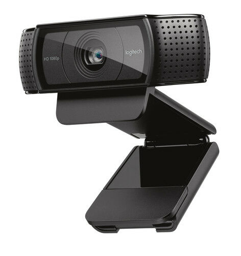 Logitech C920 HD Pro USB 1080p Webcam Black