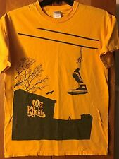Wiz Khalifa- Powerlines Sneakers- Yellow T-Shirt- Medium