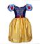 Princesse-Elsa-Robe-Deguisement-Anna-Filles-Fete-Enfants-Cosplay-Noel-Costume miniature 30
