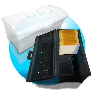 Toastbrotbox-Brotkasten-Brotkiste-Toastbrot-Kasten-Brotdose-Sandwichtoastbox
