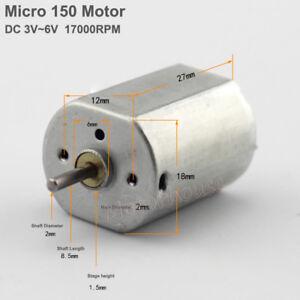Mini-DC-3V-5V-6V-1700rpm-150-Motor-Small-DC-Motor-for-DIY-Parts-Toy-Parts-Motor