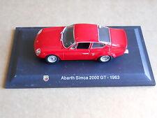 Leo Models CAR DIE CAST ABARTH 1:43 NEW - ABARTH SIMCA 2000 GT 1963 [MV-2 ]