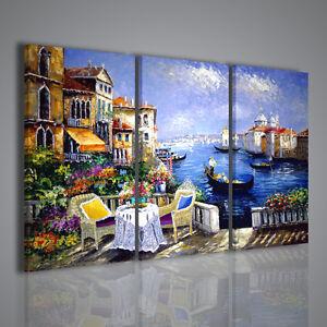 Quadri moderni venezia i gondola quadro moderno - Quadri arredamento casa ...