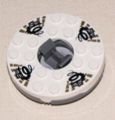 1 x Lego Ninjago Spinner rot perl gold Element Feuer mit Gleitstein 2254 2518