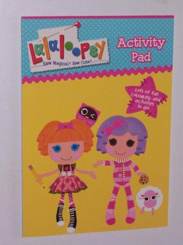 Lalaloopsy Activity Pad