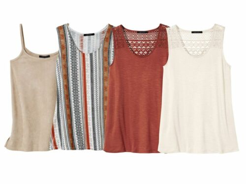 R7 ESMARA® Damen Shirt Top Fashiontop Trägertop NEU