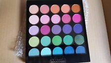 MUA Make Up Academy 25 Shade Eyeshadow Palette TROPICAL OCEANA eye shadow