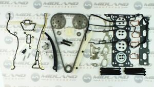 TIMING CHAIN HEAD GASKET SET HEAD BOLTS TOOL KIT FOR CORSA C /& D 1.2 16v Z12XEP