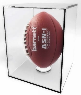 """Acrylic Sports Display Case 11.125"""" X 7.2"""" X 7.2"""" Football Collection Case15143 Beneficial To The Sperm Display Cases Autographs-original"""