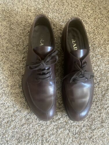 Prada Chunky Oxford Shoes Size 7.5