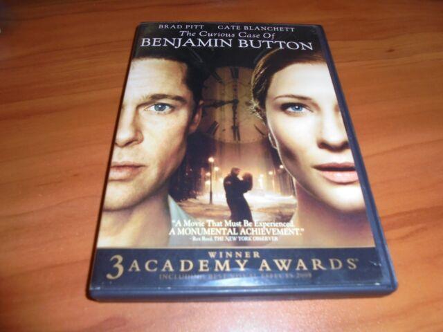 The Curious Case of Benjamin Button (DVD, Widescreen 2009)