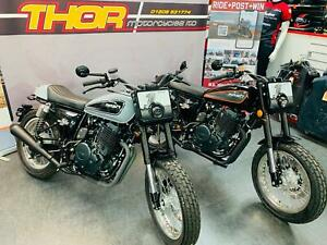 Mash DIRT TRACK 650cc BRAND NEW RETRO SCRAMBLER FLATRACKER 2 COLOURWAYS £4599