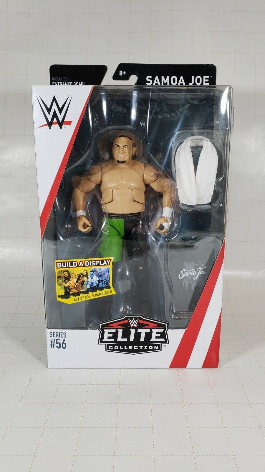 WWE Elite Collection Series 56 Action Figure Toy - Samoa Joe - Mattel - NEW