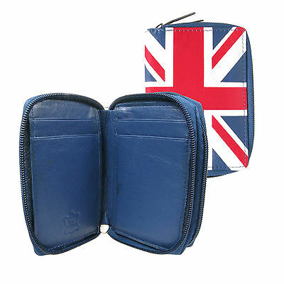 Gb Union Jack Wallet Purse With Credit Card,key Holder & Double Zip Closure 0114 An Indispensable Sovereign Remedy For Home Clothing, Shoes & Accessories