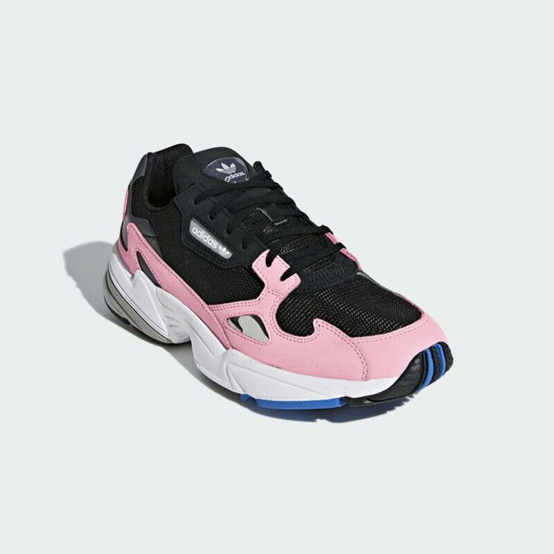 Adidas Originals Falcon B28126 - Black  Pink, Women's Sneakers Running shoes