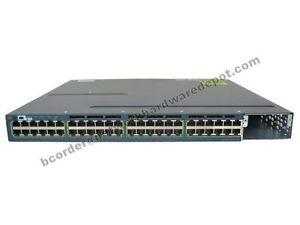 Cisco-WS-C3560X-48P-S-48-Port-Gigabit-POE-w-AC-Power-IPB-1-Year-Warranty