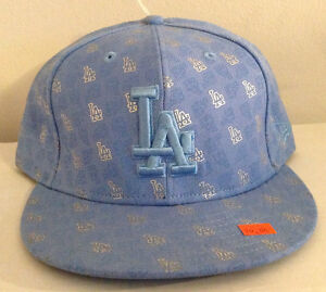 0db94daf631 Los Angeles Dodgers MLB New Era 59FIFTY Fitted Hat 100% Wool Baby ...