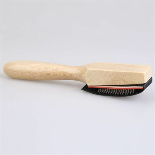 Brush for Footwear Wood Suede Sole Wire Shoe Brush Dance Shoes Cleaning Brushes