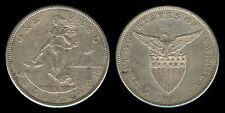 1 PESO 1904-S US-Philippine Silver Coin VF - 3