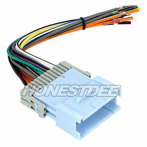 aftermarket car stereo radio to saturn wiring wire harness adapter 70 2102 ebay