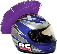 Motorcycle Motocross Snowmobile Helmet  Mohawk Purple Velcro  Looks Kick-A#@ New