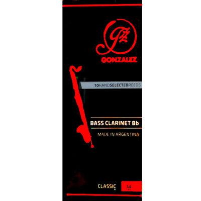 Methodisch Gonzalez Bb Bass Klarinette Classic Schlifgras Stärke 2 Holzblasinstrumente-zubehör Musikinstrumente Box Of 5