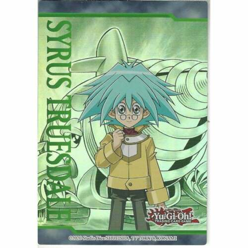 YUGIOH Syrus Truesdale Collector/'s Artwork Puzzle Piece LDS1 NM