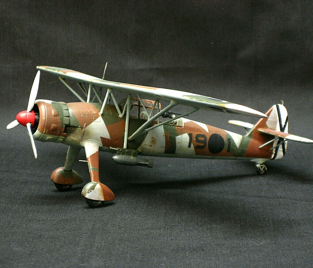 1 72 FULL PRO BUILD & PAINT MODEL HENSCHEL Hs126 SPANISH CIVIL WAR