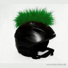 Helmirokese/ Helm Punk Iro/ Irokese/ Helmaufsatz -für Motorradhelm -  Grün