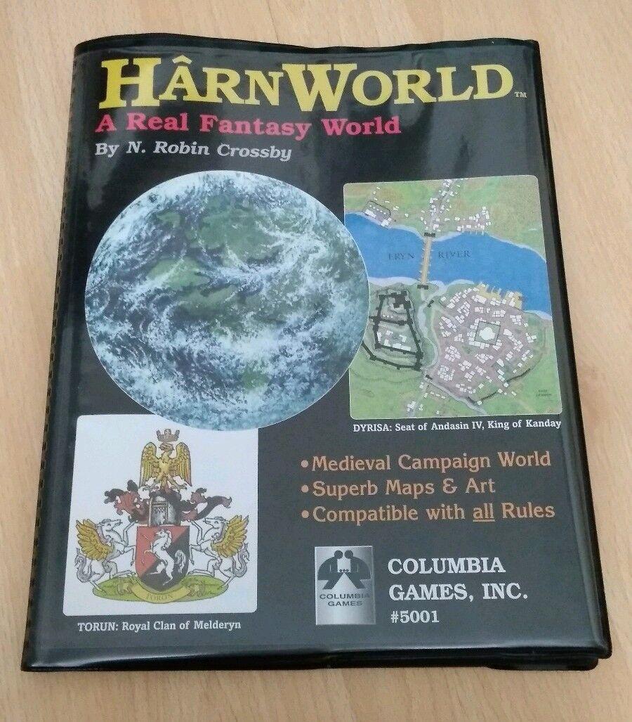 HârnWorld - A real fantasy world