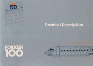 FOKKER-100-TECHNICAL-DESCRIPTION-amp-AIRCRAFT-OVERVIEW